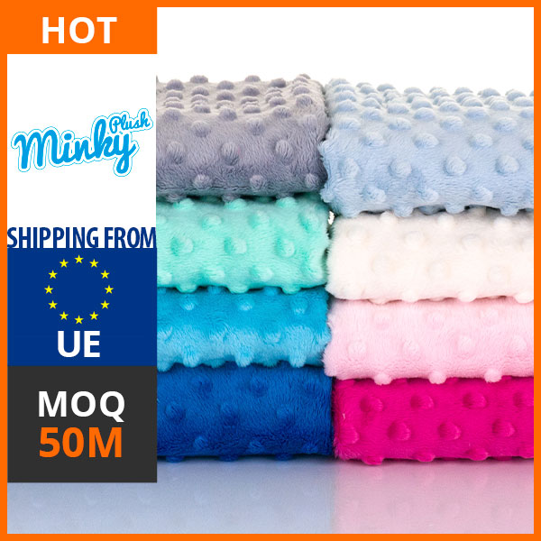 Hot Sale High Quality Fleece Fabric - PlushMinky company, quick shipment to Europe and Russia