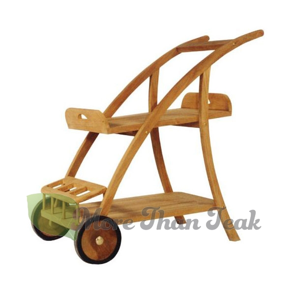 COCKTAIL CAR WITH TRAY teak from Jepara Indonesia for Garden/Outdoor furniture