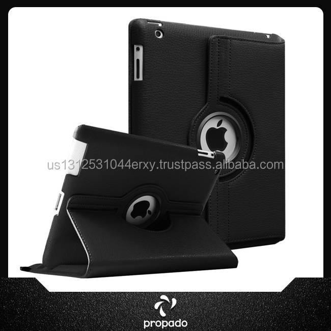 7 Inch Hot Selling Rotatable Leather Case For Tablet Cover For Ipad 2 3 4