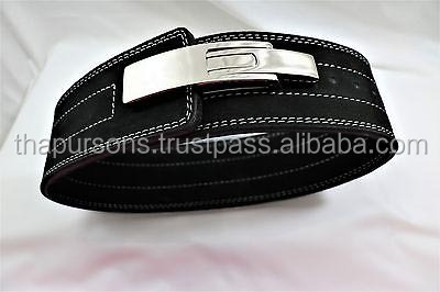 Weight Power Lifting Leather Lever Pro Belt Gym Training Power lifting