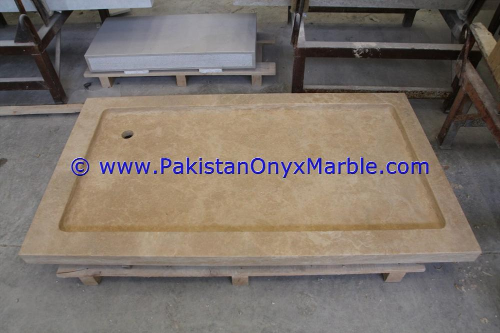 HIGH QUALITY CHEAP PRICE MARBLE SHOWER TRAY HANDCARVED NATURAL STONE BATHROOM DECOR BEIGE MARBLE