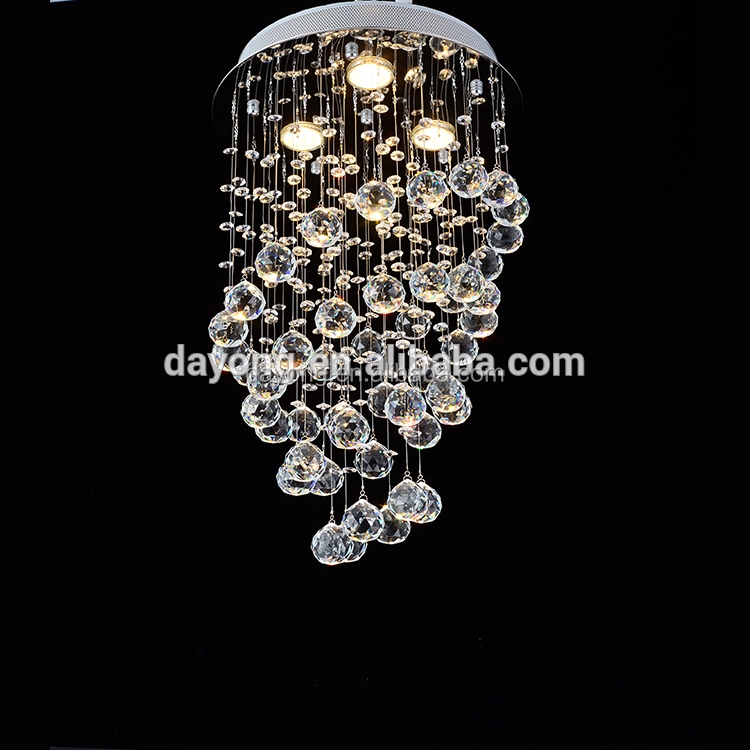 High Quality Crystal Staircase Chandelier for Home Decoration Hotel