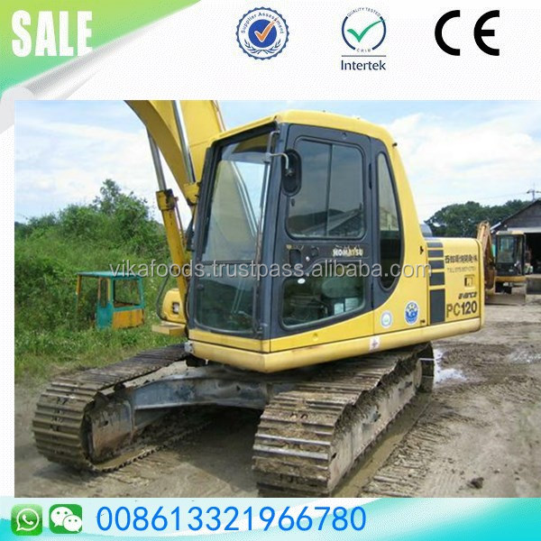 Cheap sale secondhand Komatsu pc120 digger sale in Shanghai