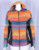 STYLISH MULTICOLOR PATCHWORK BOHEMIAN LADIES HOODIE CSWJ 461