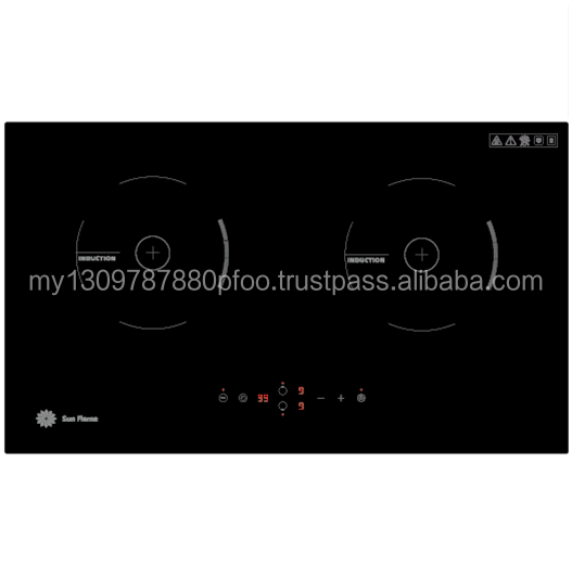Ceramic Glass Double Burner Induction Cooker