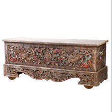 Old Age Furniture Solid wooden Hand Carving Living Room Buffet