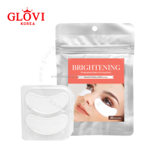 Brightening Eye Masks (20 Patches) / Korean Personal Beauty Care / Eyelash Extension Tools
