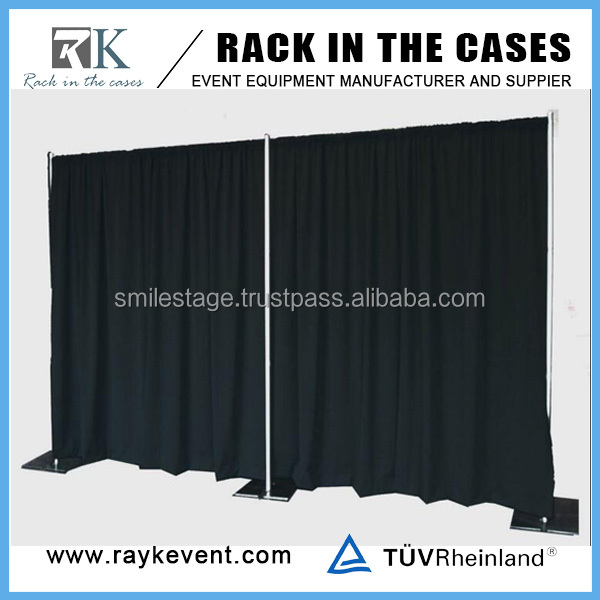 Factory cheap wedding backdrop pipe and drapes for sales