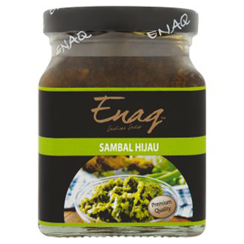 Sambal Hijau Hot Green Birds Eye Chilli Sauce