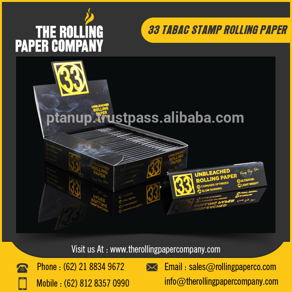 Smart Size Slim Rolling Paper/ Smoking Rolling Paper for Export