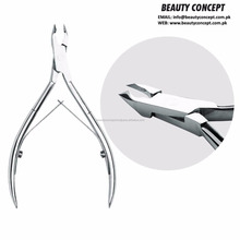 New 2017 Wave Handle Cuticle Nail Nipper with Double Spring Best Nail Art Manicure Tool Cuticle Nipper/Cutter with Double Spring