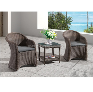 Rattan The Tea/ Coffee Table Restaurant Coffee Shop White Rattan/ Wicker Outdoor Furniture