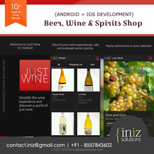 Mobile Application for Beer business online