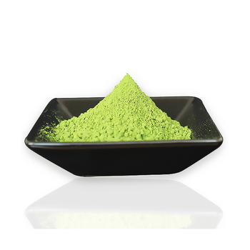 Powdered matcha natural green tea made in Japan