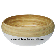 Quality eco-friendly traditionally hand finished vietnamese coiled bamboo home accent products