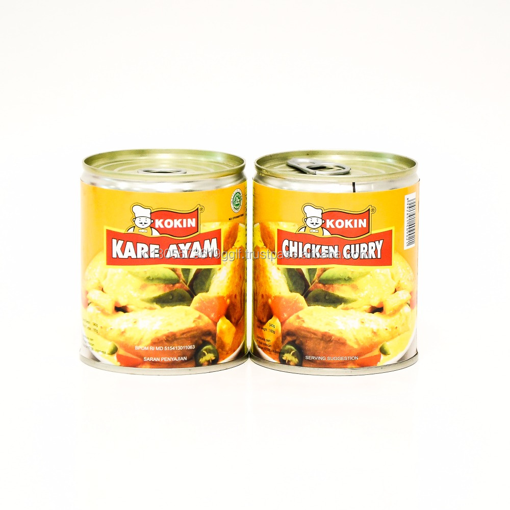 Tasty Halal 340g Chicken Curry Flavor Sauce with Meat