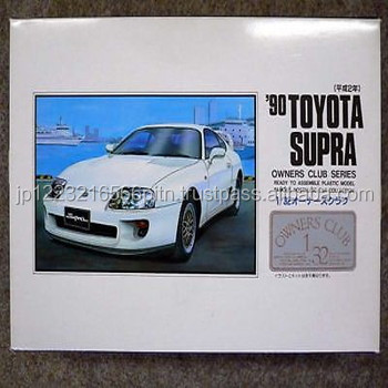 Convenience and Easy to use Owner's No.37 '90 Toyota Supra (revised) Plastic model with multiple functions made in Japan