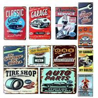Customized Vintage Metal Tin sign for Bar Club Wall Home Decor
