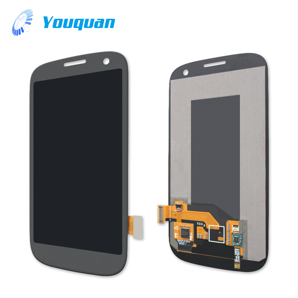 Low price screen display assembly with touch panel for samsung galaxy s3 neo i9301i lcd
