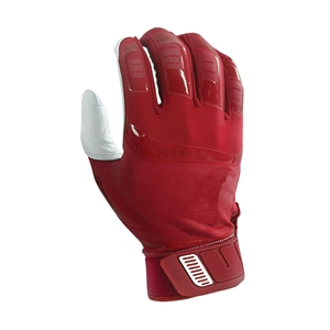 High Quality Baseball Batting Gloves with Rubber strap embroidery logo custom colors