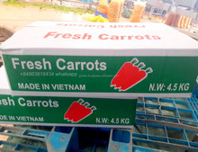 Fresh Carrots, exporting to Dubai market 2018