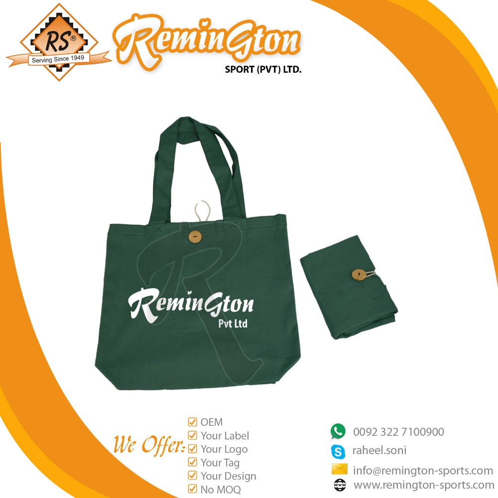 RSB-04 Wholesale Customized Cotton Tote Grocery Bag Shopping Bag with Printed Logo