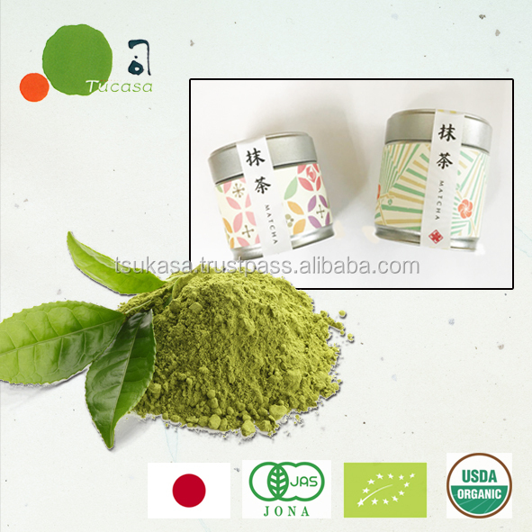 Organic Matcha private label available in various packaging forms