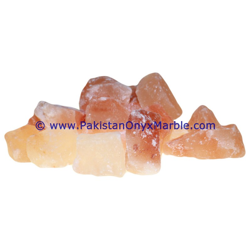 TOP QUALITY NATURAL HIMALAYAN ROCK CRYSTAL SALT PINK CHUNKS