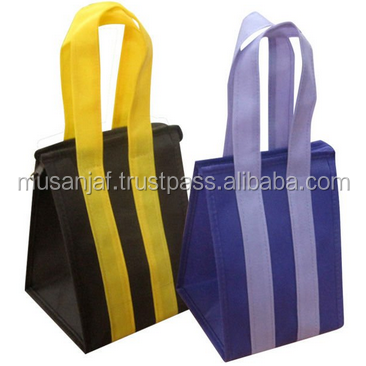 CUSTOM PRINTED non woven bags high quality shopping bags WITH ZIPPER