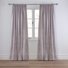 2 Panel Solid Lined Thermal Blackout Grommet Window Curtain Drape, Royal valance window treatment all kinds of Turkish curtain