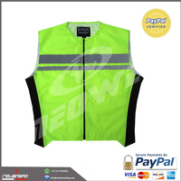New style safety reflective vest Custom logo fabric reflecting vest for sale
