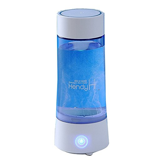 Portable hydrogen rich water bottle ( Minerals, Removal of active oxygen ) electrolysis hydrogen water generator korea