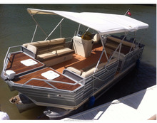 Aluminum Luxurious Yatch 8M Grand Deluxe Yatch SC8-SP Direct from Manufacturer - Made in Turkey