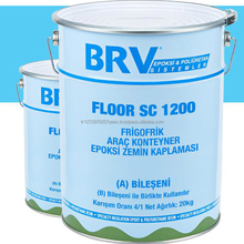 2K Solvent-free, Epoxy Refrigerated Vehicle Floor Covering, Waterproof, Wear-free and Provides 100% Hygienic