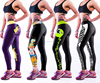 2017 Hot Sale Sex Skins Fitness Compression Wear /Sports Running Compression Tights/Custom Sublimation