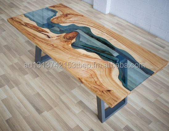 Dining Table Solid Wood Slab