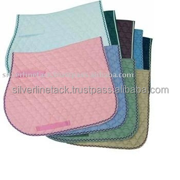 Western Saddle Pad Quilted Trim soft lining.