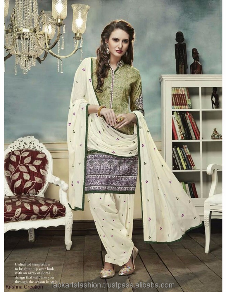 Kessi Colours By Patiyala House Vol 2 Glace Cotton 9551 Embroidery work salwar kameez