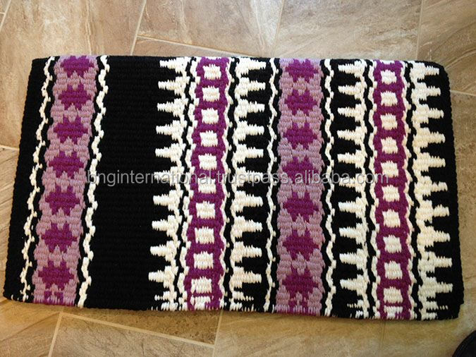 Western Saddle Pad Navajo Blanket