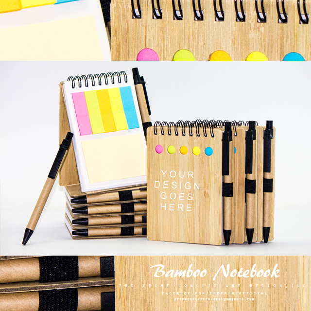 Personalized Bamboo Notebook