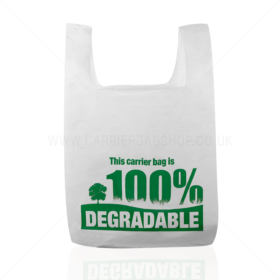 Gravure Printing Soft loop handle plastic bag for shopping
