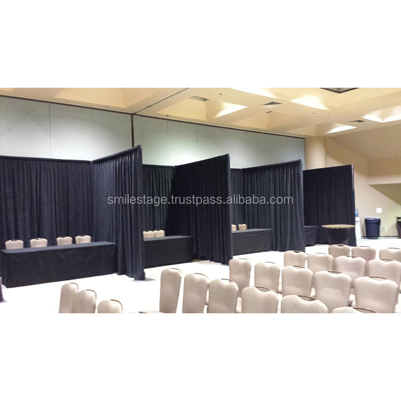Pipe and drape portable photo booth fancy backdrops for wedding