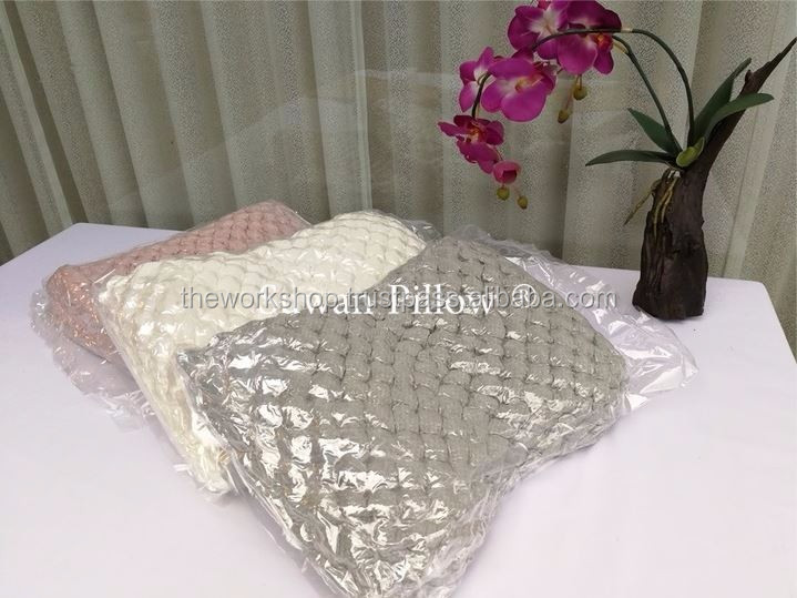 Thai Land 100% Natural Latex Massage Pillow / Natural Latex Foam Rubber Pillow made in ThaiLand