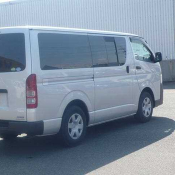 SECOND HAND YAER 2015 HIACE VAN LONG DX GL