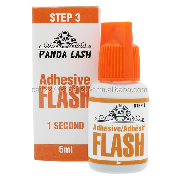 Eyelash FLASH Adhesive by PandaLash 5ml (1 Sec.) - PRIVATE LABEL WELCOME