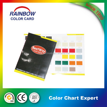 Painting color cards