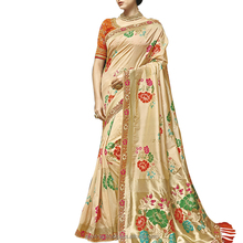 Brocade Weaving Banarasi Silk Saree