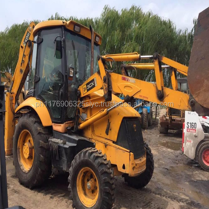 Original 2012 year jcb 3cx compact tractor with loader and backhoe