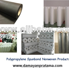high quality black / white PP spunbond nonwoven fabric, best factory pp nonwoven fabric