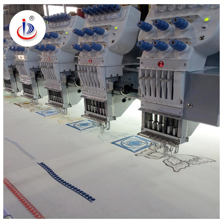 6 NEEDLES 15HEAD EMBROIDERY MACHINE FOR SALE IN INDIA